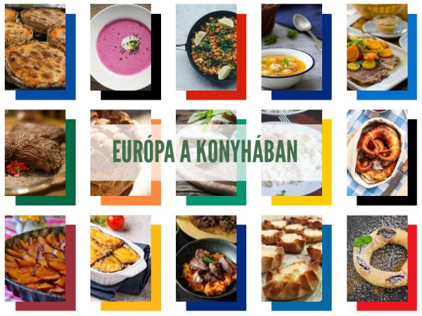 A tízéves Európa Pont letölthető európai receptes e-könyvvel ünnepli születésnapját