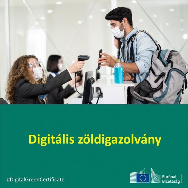 Covid19: digitális zöldigazolvány