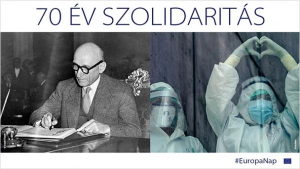 Május 9. - Európa-nap - 70 év szolidaritás